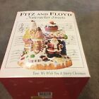 2004 FITZ & FLOYD NUTCRACKER SWEETS MUSIC BOX  PLAYS