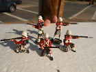 King and Country, British soldiers Seaforth Highlanders lot of 5 glossy, oop VE1