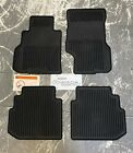 Infiniti M35 M45 All Season Rubber Floor Mats OEM BLACK 999E1 QS000CH