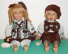 Knightsbridge Collectible porcelain dolls Brother & Sister