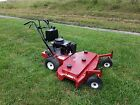 Exmark 48 Commercial Walk Behind Lawn Mower Commercial Kawasaki w New Tires