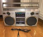 VINTAGE! Panasonic (RX-5050) AM/FM Cassette AMBIENCE 4 SPEAKER/4-BAND BOOMBOX