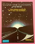CLOSE ENCOUNTERS by GOTTLIEB Rare Pinball Game PROMO Sales Flyer Brochure