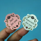 20 Sheets Flower Especially for you just for you Sticker Labels Gift Wrap Craft