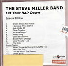 the steve miller band let your hair down special edition cd promo