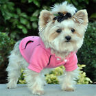 DOG SWEATSHIRT yorkie chihuahua toy poodle DOG HOODIE JUMPER clothes USA SELLER