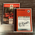SET ALLIS CHALMERS HD 5 TRACTOR SERVICE REPAIR MANUAL PARTS CATALOG TECHNICAL