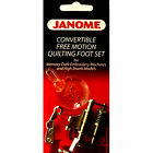 Janome Convertible Free Motion Quilting Foot Set 202001003 For High Shank Model