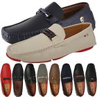 Mens LOAFERS SHOES Slip On Classic Fashion Faux Leather Dress Driving Business