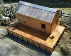 NEW Laser Cut G Scale  1 29 scale Railway Goods Shed and platform Kit