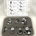 7 Pc. Special Hemmer And Binder Foot Set For Low Shank Sewing Machines