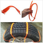 8 Pcs Car Ice Snow Mud Bunkers Driving Wheel Emergency Antiskid Chains Thickened