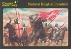 Caesar Miniatures 1/72 Scale Medieval Knights (Crusaders) Set CMF17 NEW In Box!