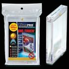10 ULTRA PRO One Touch Magnetic Holders 360pt UV Gold Magnet New