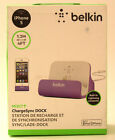 Iphon5 Belkin MIXIT ChargeSync DOCK for Iphone 5 with 4 ft(1.2 M) Reach - Purple
