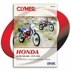 1982 Honda XL500R Repair Manual Clymer M339-8 Service Shop Garage Maintenance