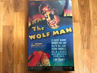 SIDESHOW THE WOLF MAN UNIV STUDIOS 12IN FIGURE MIB NEW