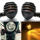 Motorcycle Bullet Tail Brake Turn Signals Lights For Harley Iron 883 Night Train