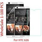 Tempered Glass Screen Protector PET Soft Film For HTC Desire 626 626S LOT