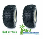 SET Of TWO 20X10.00-8 Turf Tires for Garden Tractor Lawn Mower Riding Mower