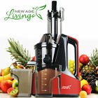 New Commercial Slow Juicer Masticating Cold Press Machine Fruit Vegetable E L