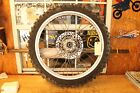 1996 HONDA XR400     FRONT WHEEL ASSEMBLY (BAD TIRE,SEE PHOTOS)