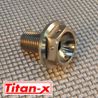 Honda VTR1000 firestorm SP1-2  front wheel spindle bolt Titanium drilled M14x1.5