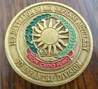 3D Infantry Division 1st Battalion 3D Air Defense Artillery Challenge Coin