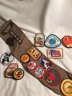 Vintage GIRL SCOUT Brownies USA SASH BADGES PATCHES Northwest Georgia 80s