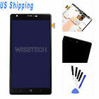 Black For Nokia Lumia 1520 LCD Replace Touch Digitizer Assembly + Bezel Frame A+