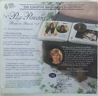 NEW IN PACKAGE CREATIVE MEMORIES 7 X 7 Page Protectors 12 Sheets