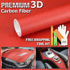 18 Colors 3d Matte Dry Carbon Fiber Vinyl Sticker Wrap Decal Sheet Film Diy