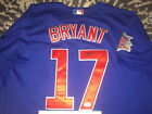 Kris Bryant Signed Auto Chicago Cubs Jersey All Star ROY Superstar JSA