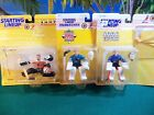 LOT OF 3 STARTING LINEUP HOCKEY FIGURES 1995 TO 1997