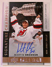 2014 15 MARTIN BRODEUR UD PREMIER ON CARD AUTOGRAPH HIS JERSEY NUMBER! 30 99