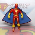 1985 Kenner DC Super Powers Action Figure Red Tornado Repro Cape Fast Ship