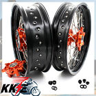 17 INCH CUSH DRIVE SUPERMOTO WHEEL RIM FIT KTM KTM 690 ENDURO R 2008-2019 SMC
