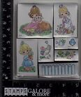 STAMPENDOUS NEW RUBBER STAMPS PRECIOUS MOMENTS FOAM MOUNTED GARDEN GIRLS USS008
