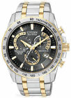 Citizen Eco-Drive Men's AT4004-52E Chronograph Two-Tone Perpetual Calendar Watch