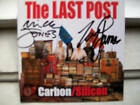 Carbon/Silicon the Last Post signed cd Mick Jones  the  Clash Big Audio Dynamite