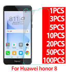 New 9H Premium Tempered Glass Screen Protector Film For HuaWei Honor 8 LOT