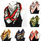 Ladies Fashion Silken Satin Square Scarf Large 35 x 35