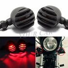12V Red Bullet Tail Brake Turn Signal Light For Harley Sportster XL 883 XL 1200