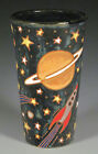 Eric Olson Pottery, Space Vase, art pottery, arts and crafts pottery
