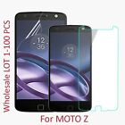 PET Soft Premium Tempered Glass Screen Protector For Motorola Moto Z Droid LOT