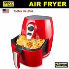 Red 1400W 4.2L Oil Free Non-Stick Low Fat Cook Deep Fryer Health Food Air Fryer
