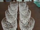 WATERFORD DONEGAL 8 WINE GLASSES 4 1/3