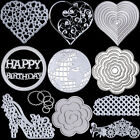 Metal Cutting Dies Stencil Scrapbooking Paper Cards Craft Embossing DIY Die Cut