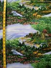 GREAT SMOKY MOUNTAINS PARK NORTHCOTT PRINT 100 COTTON FABRIC BY THE 1 2 YARD