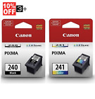 Genuine Canon Ink Cartridges PG 240  CL 241 Bulk Package MG3620 MG3520 TS5120